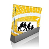 > > Decal Sticker < < Yellow Brick Road Characters Silhouettes Design Print Image Wii Console Vinyl Decal Sticker Skin by Trendy Accessories by Trendy Accessories