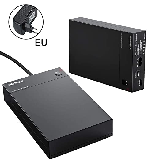 Yestter Carcasa Disco Duro USB 3.0 2.5 Pulgadas / 3.5 Pulgadas ...