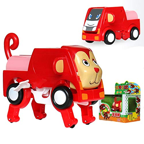 BABYA Auto Transform Into Car Wind-up Lovely Animal Toy for Kids TY-09 by BABYA