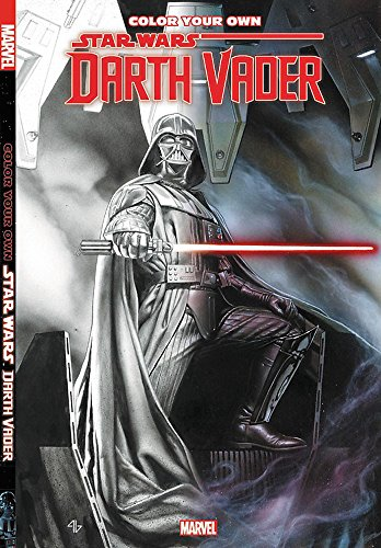 Color Your Own Star Wars: Darth Vader