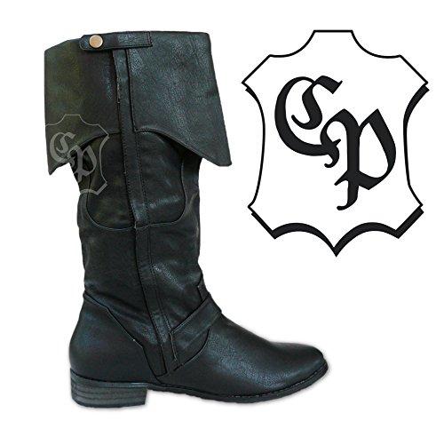 CP nero uomo Schuhe Stivali Nero RwZqa