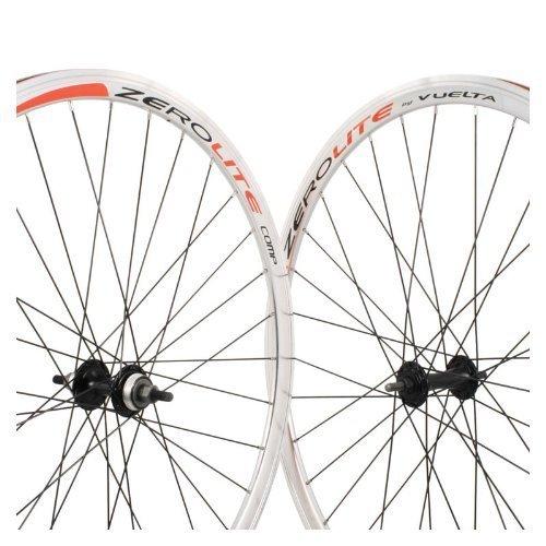 Vuelta ZeroLite Track Comp Polished 700C Wheel Set by Vuelta
