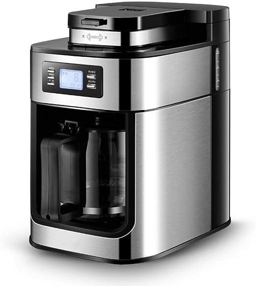 KOUDAG Cafetera Hotel Hogar eléctrico Máquina de café Inteligente Bebida Constante Pequeña Taza Dividida Granos de café Molinillo Una máquina: Amazon.es: Hogar