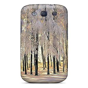 Defender Case With Nice Appearance (scenery Of Winter) For Galaxy S3