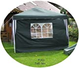 Collapsible Pavilion / Party Tent 3 x 3 M in Blue including 2 side Panels