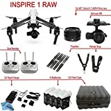 DJI Inspire 1 RAW Bundle with Zenmuse X5R, 4 Batteries, Remote Harness, Dual Remotes & more…