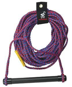 AIRHEAD AHSR-1 Water Ski Rope with Aluminum Handle (75-Feet)