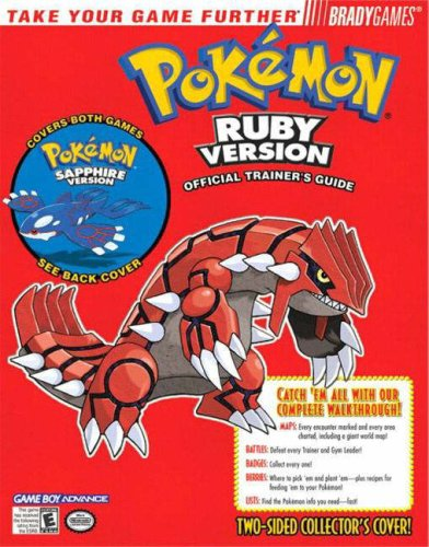 - Pokemon Ruby & Sapphire Official Trainer's Guide