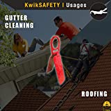 KwikSafety (Charlotte, NC) GATOR Roof Anchor Red