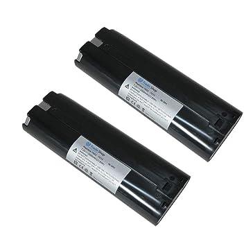 2x Batterie 7,2v 3300mah ni-mh pour Makita 6022dw 6071dwk 6072dwl 6072dkw 6073d