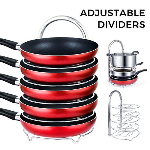 lifewit-height-adjustable-pan-pot-organizer-rack-5-tier-cookware-holder-for-cabinet-worktop-storage-