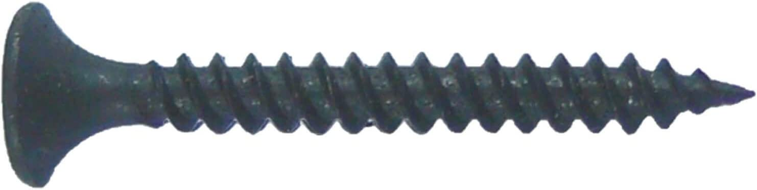 All Purpose Wood Screws Gray Phosphate Drywall Screws: #6 x 1-1//4 Bulk Use for Low Cost ~8000 Screws sheetrock Screws COARSE Thread Drywall Screws for Gypsum Board//sheetrock//plasterboard