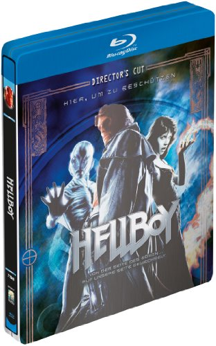 HellBoy German Blu-ray SteelBook, [Region Free]