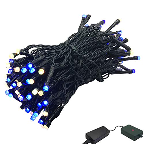 14ft 96pcs Pixels LED String Lights Individually Addressable Dimmable with Smart Phone APP Control,Waterproof Decorative Light Show for Bedroom, Patio, Garden, Parties, Wedding ( Copper Wire ()