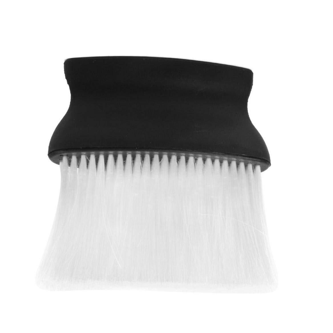 Gamloious Barber Neck Face Duster Brush Hairdressing Brush Hair Salon Neck Brush