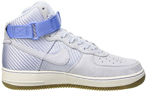 Nike Womens Air Force 1 Hi Prm Porpoise/Porpoise Basketball Shoe 8 Women US by NIKE (Image #6)