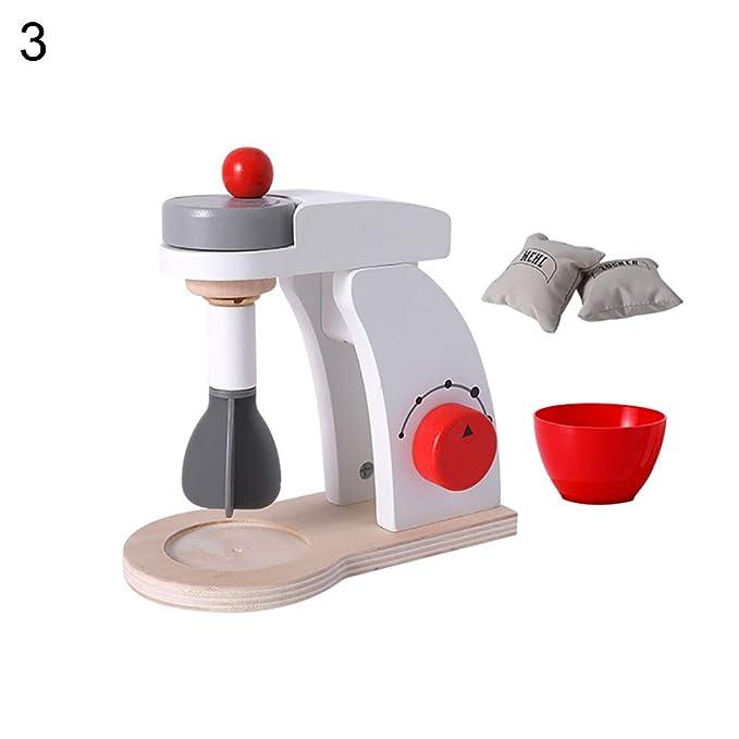 XMxDESiZ Madera Mini Simulación Brot Máquina de café Mixer ...