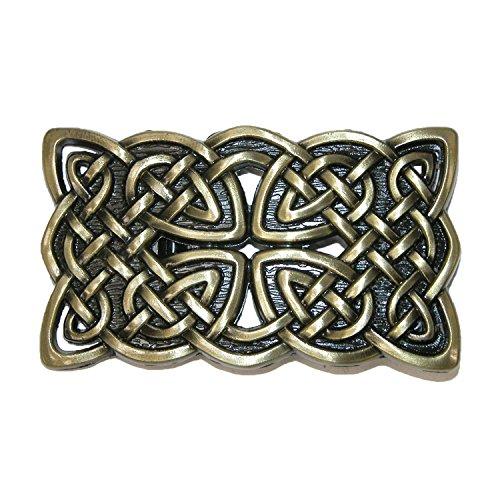 CTM Celtic Knot Belt Buckle, - Belt Irish