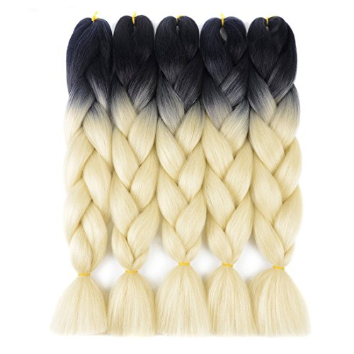 DingDian Jumbo Braiding Hair Extensions Ombre Kanekalon for sale  Delivered anywhere in USA