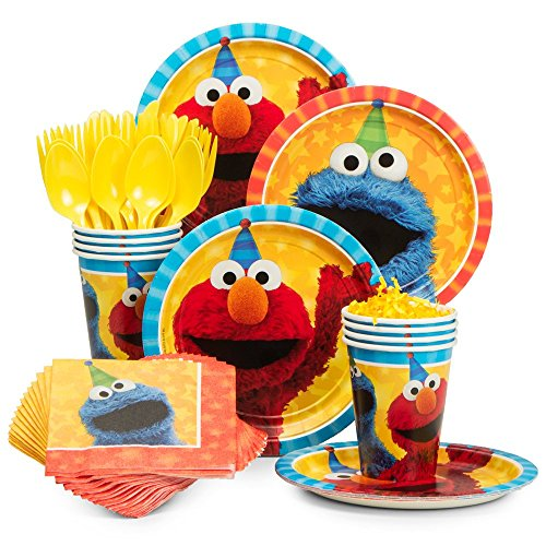 BirthdayExpress Sesame Street Party Supplies Snack Party Pack for ()