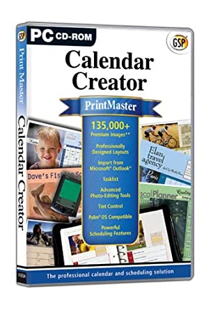 PrintMaster Calendar Creator PC Software