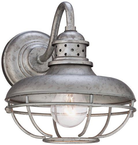 Galvanized Metal Outdoor Lighting - 6