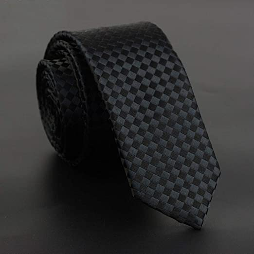 QEHWS Corbata Corbata Fina para Hombre Vestido De Corbata con ...