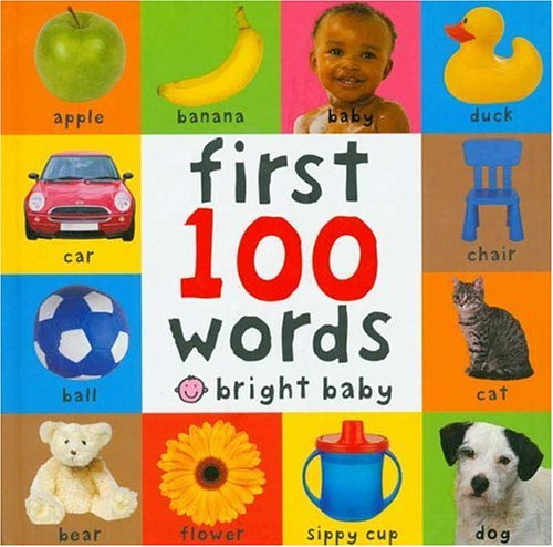 First 100 Words (Bright Baby) - Stores Legends Center Shopping
