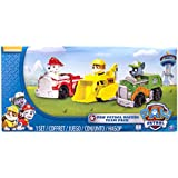 Paw Patrol Racers 3-Pack Vehicle Set, Marshall, Rocky, Rubble