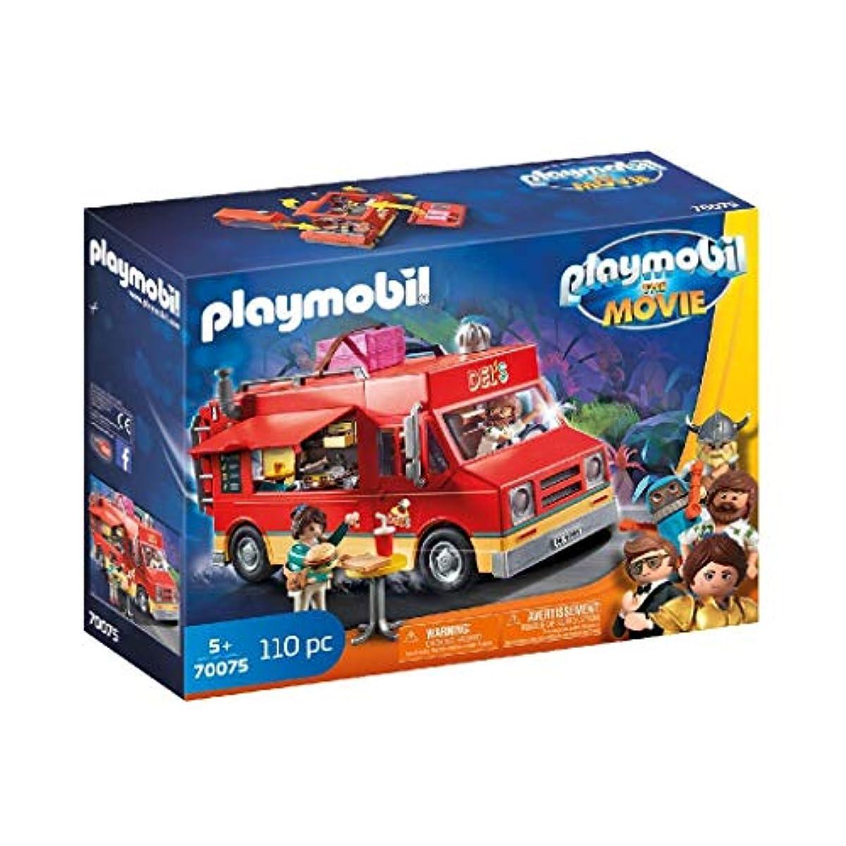 [해외] 플레이모빌 더 무비 델의 푸드트럭 70075