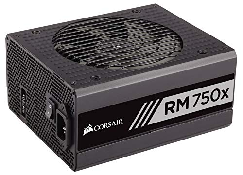 CORSAIR RMX Series, RM750x, 750 Watt, 80+ Gold , Fully Modular Power Supply (Renewed)