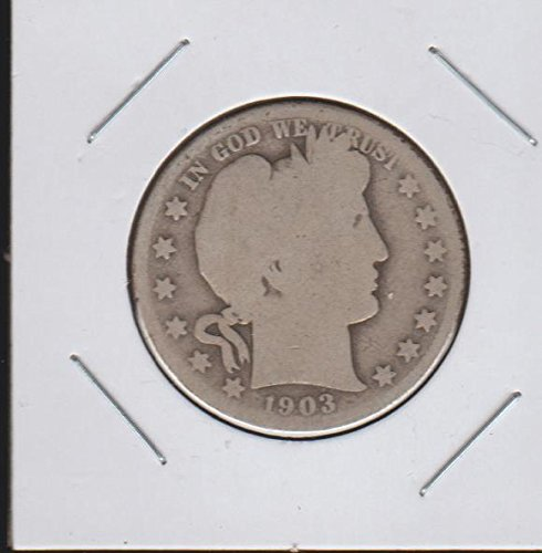 1903 S Barber or Liberty Head (1892-1915) Half Dollar About Good