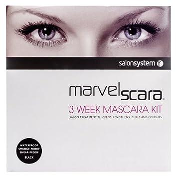 e69a5cc39c7 Marvelscara Kit Marvel-lash 3 Week Eye Lash Mascara Semi-permanent Salon  System: Amazon.co.uk: Health & Personal Care