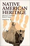 Native American Heritage, Garbarino, Merwyn S. and Sasso, Robert F., 0881337730