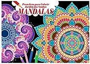 Prancheta Para Colorir - Jardim dos Sonhos: Mandalas