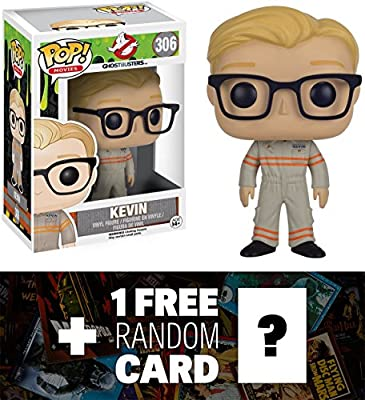 Kevin: Funko POP! x Ghostbusters Vinyl Figure + 1 FREE Sci-fi & Horror Movies Trading Card Bundle (092054)   Computers And Accessories