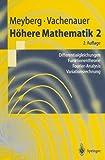 Höhere Mathematik 2. Differentialgleichungen, Funktionentheorie. Fourier-Analysis, Variationsrechnung