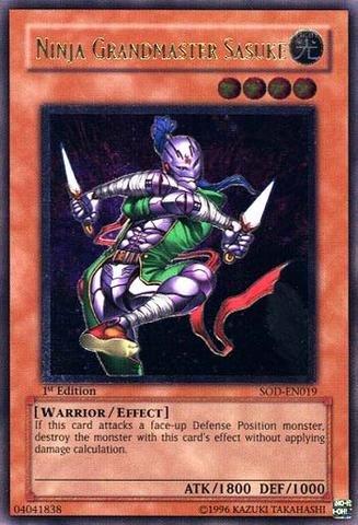 Yu-Gi-Oh! - Ninja Grandmaster Sasuke (SOD-EN019) - Soul of ...