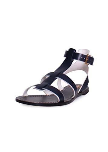 b30ab276334 Tory Burch Patos Gladiator Sandals in Perfect Navy Size 6