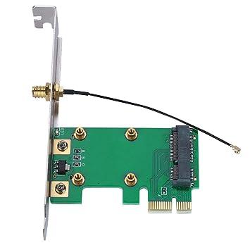 Zerone PCI Express a Mini PCI Express Adaptador de Tarjeta Red ...