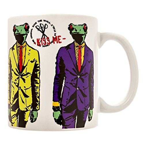 Mug-Cool Unique Kiss Me Mugs by Mr. Save The Wall,Famous Italian Artist-Special...