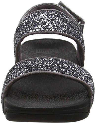 Fitflop Glitterball Sandal - Sandalias con tacón Mujer gris