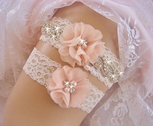 Freedi Wedding Bridal Garter Belt Bridesmaids Legs Belt Prom Vintage for  Women Lady Party Set of