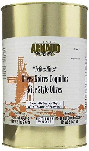 Arnaud Nicoise Olives, 9.48-Pounds