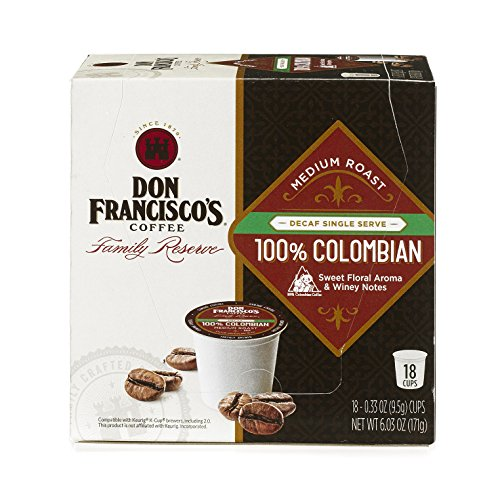 Don Francisco Breakfast Blend, Single Serve Coffee, 18 Count