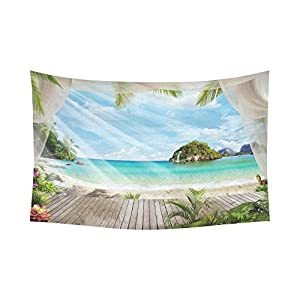 51JBd4W8KjL._SS300_ Beach Tapestries & Coastal Tapestries