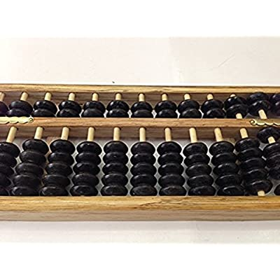 Wooden Abacus Chinese Calculator: Toys & Games