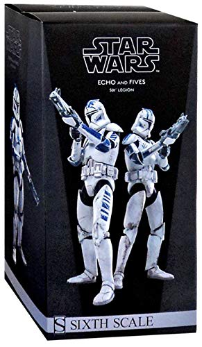 Star Wars 1/6 Military's of Star Wars Clone Trooper Echo and Fives