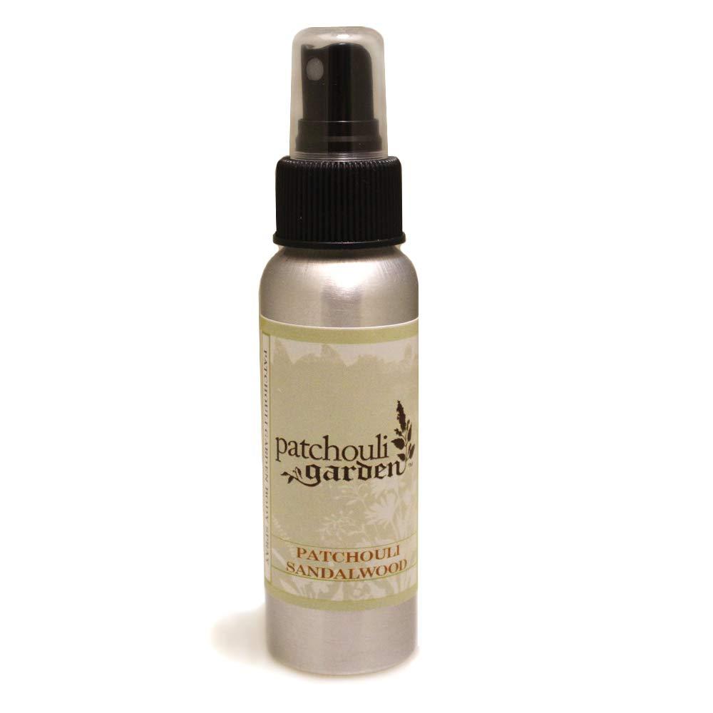 Patchouli Garden - Patchouli Sandalwood Perfume Body Spray 2.5 Ounces