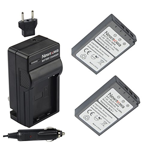 Newmowa Battery Charger Olympus Batteries product image